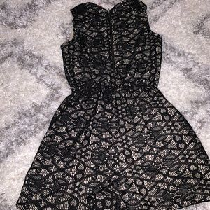 Xhilaration Pants - Black and nude lace romper 🖤